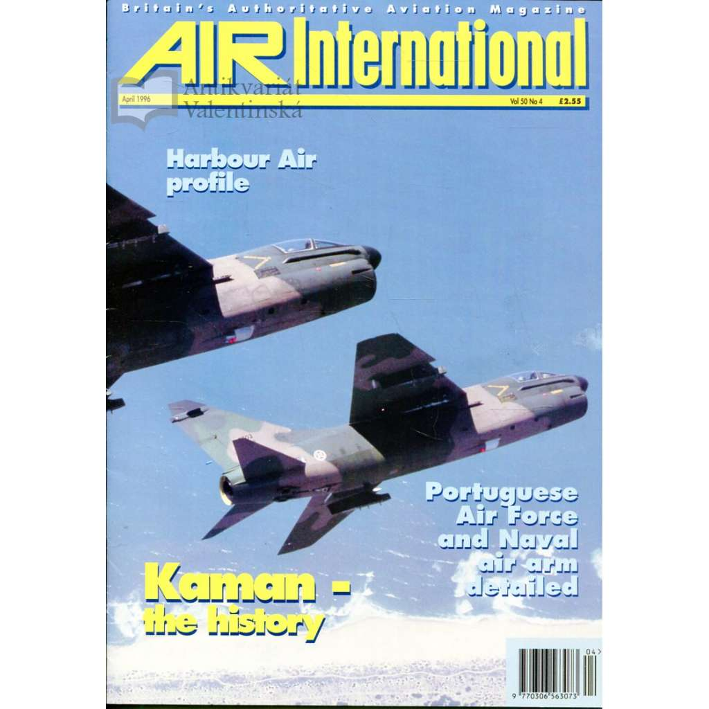 Air International 4/1996, Vol. 50, No. 4 (letectví, letadla)