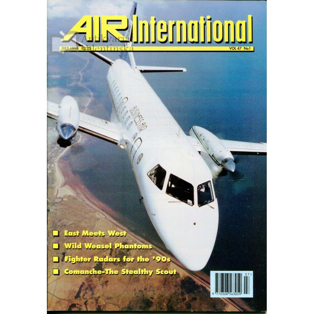 Air International 6/1994, Vol. 47, No. 1 (letectví, letadla)