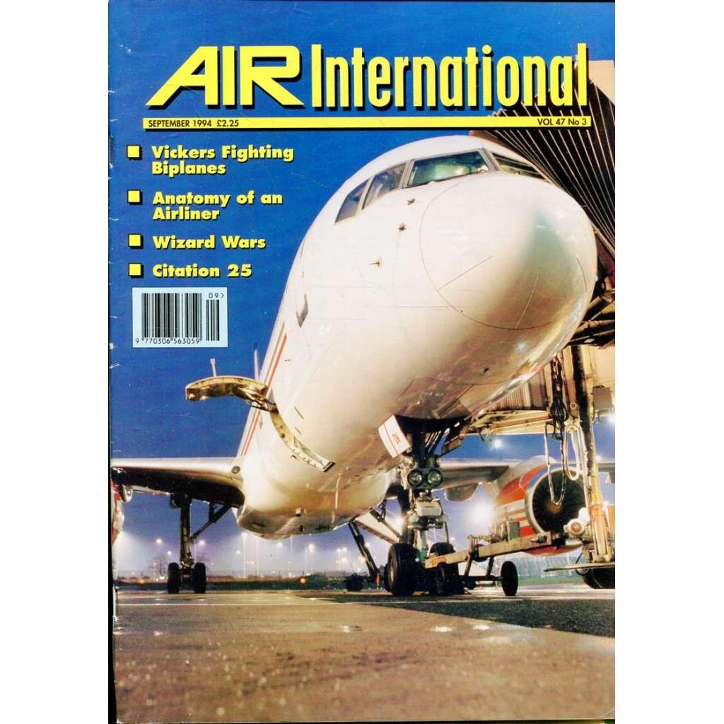 Air International 9/1994, Vol. 47, No. 3 (letectví, letadla)
