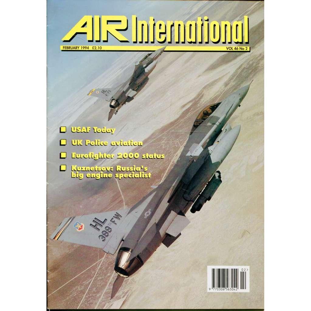 Air International 2/1994, Vol. 46, No. 2 (letectví, letadla)