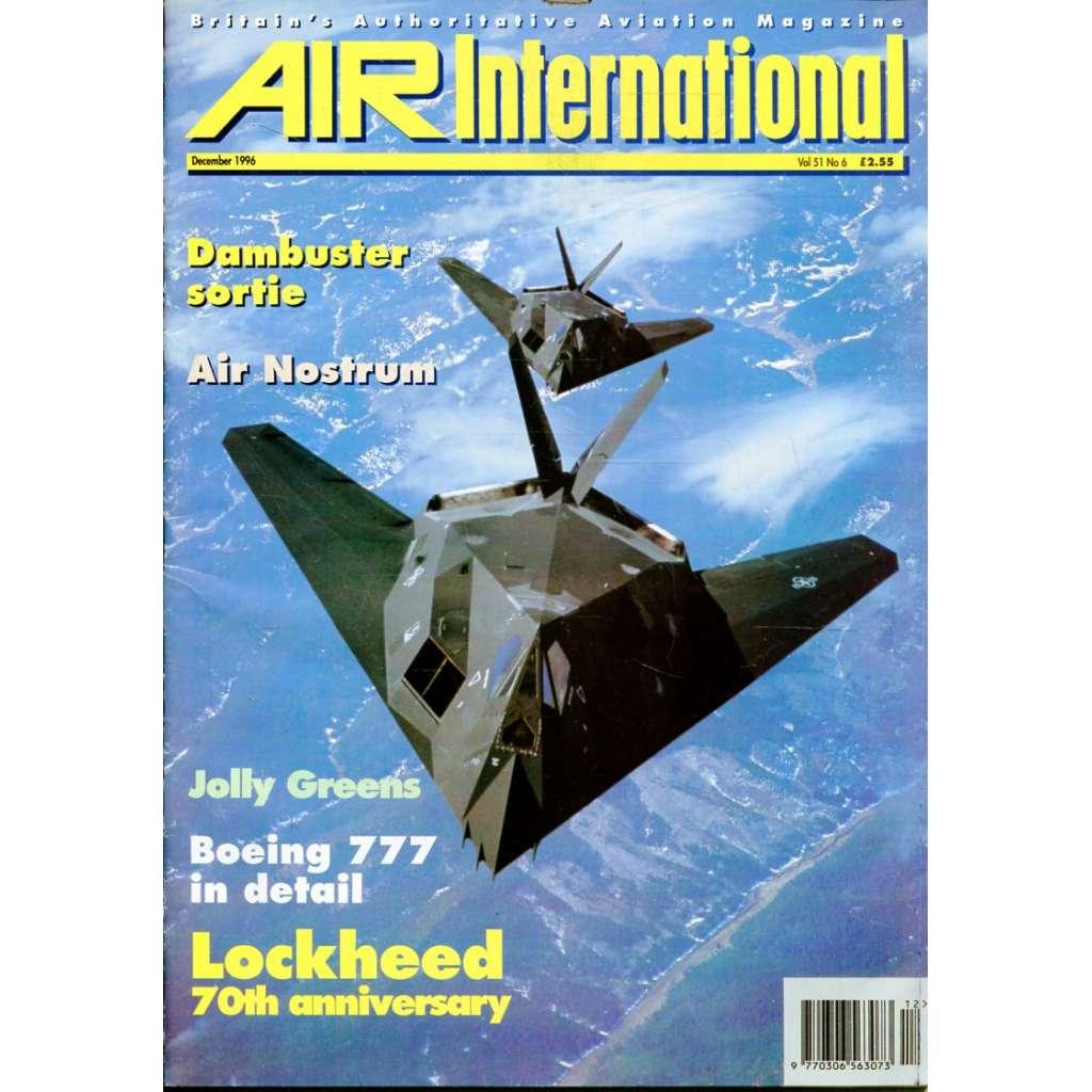 Air International 12/1996, Vol. 51, No. 6 (letectví, letadla)