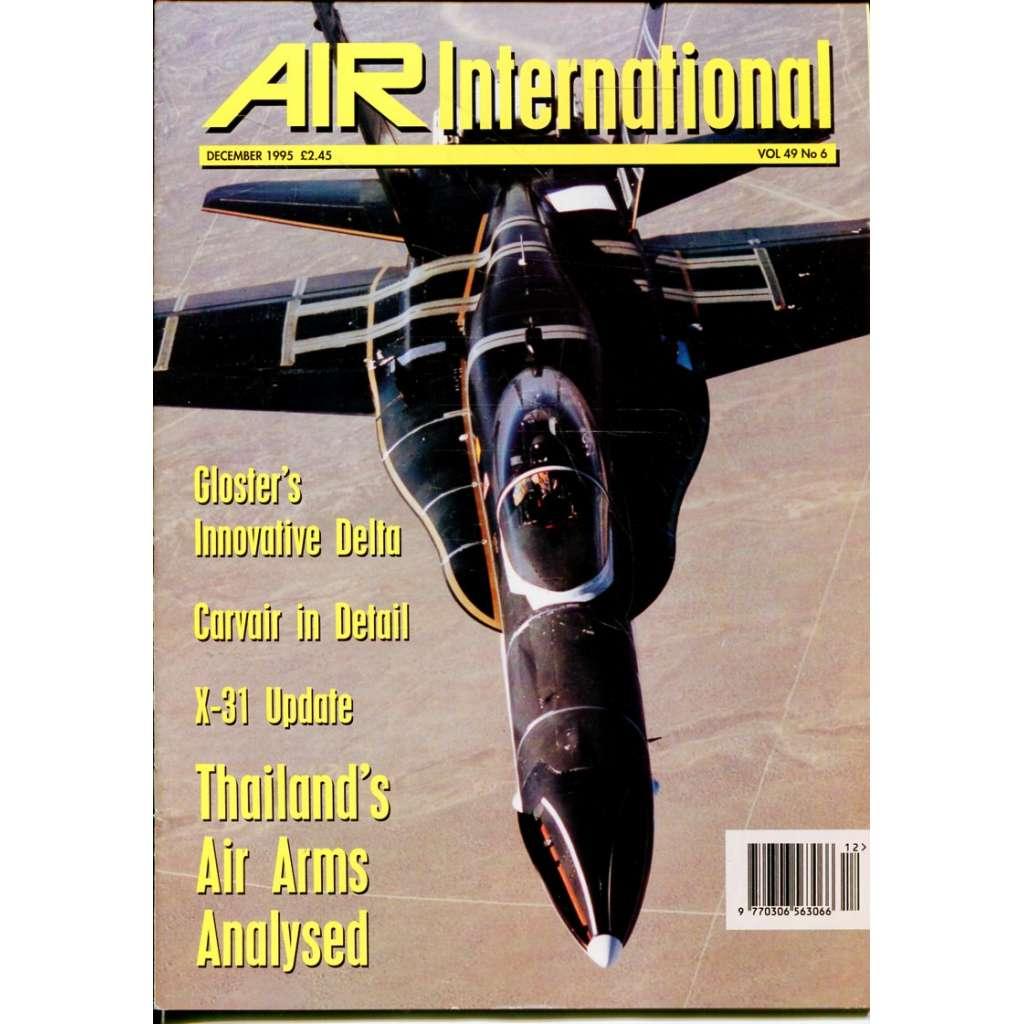 Air International 12/1995, Vol. 49, No. 6 (letectví, letadla)