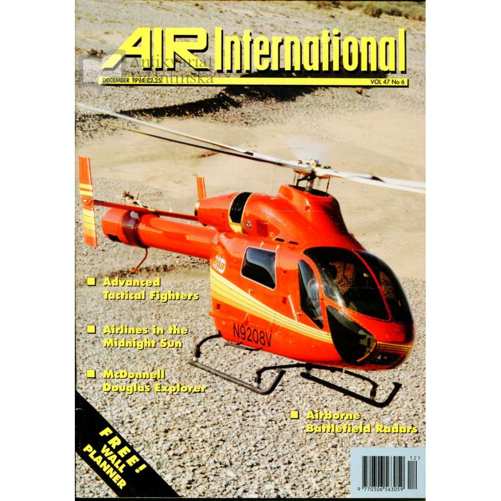 Air International 12/1994, Vol. 47, No. 6 (letectví, letadla)