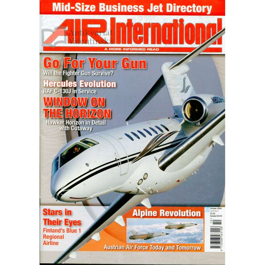 Air International 10/2004, Vol. 67, No. 4 (letectví, letadla)