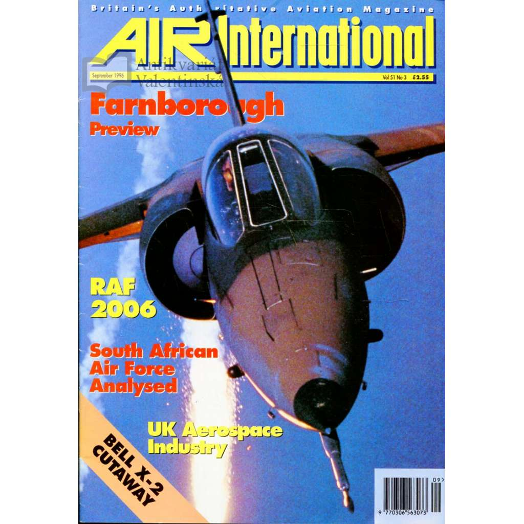 Air International 9/1996, Vol. 51, No. 3 (letectví, letadla)
