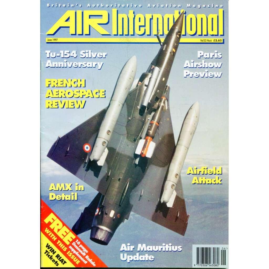 Air International 6/1997, Vol. 52, No. 6 (letectví, letadla)