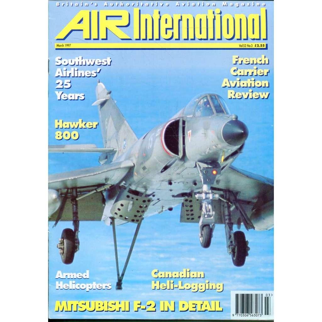 Air International 3/1997, Vol. 52, No. 3 (letectví, letadla)