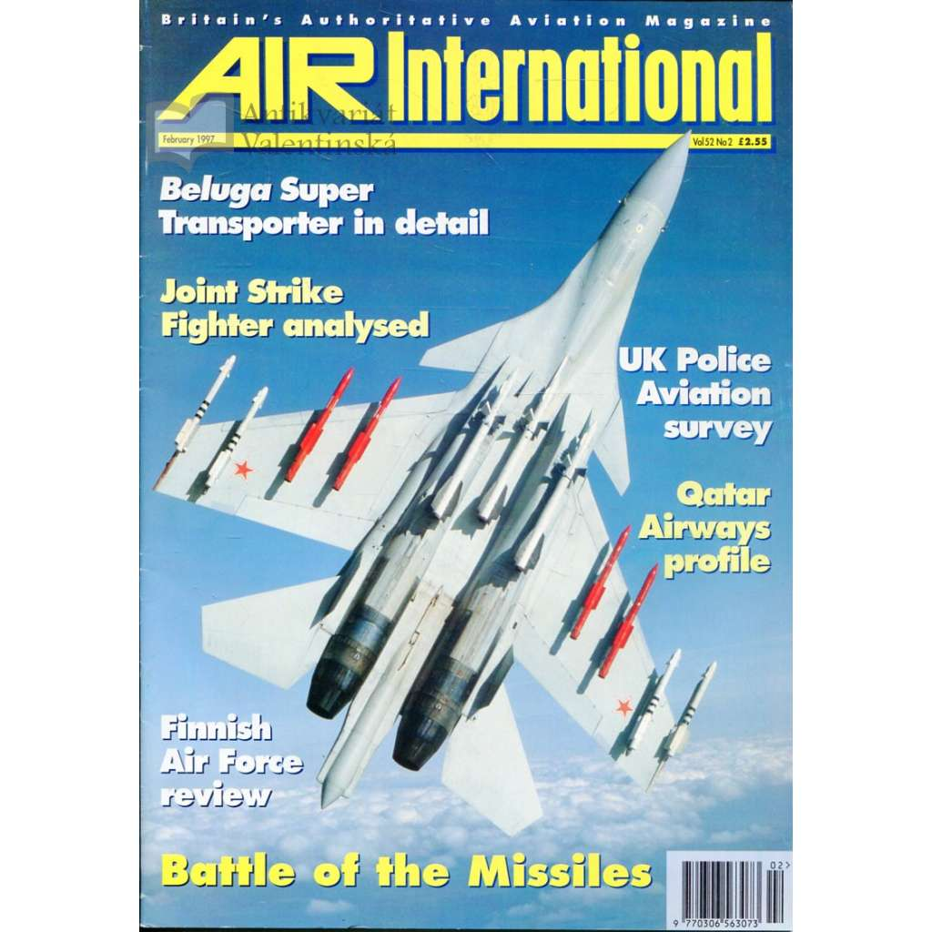 Air International 2/1997, Vol. 52, No. 2 (letectví, letadla)