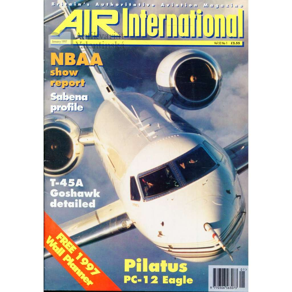 Air International 1/1997, Vol. 52, No. 1 (letectví, letadla)
