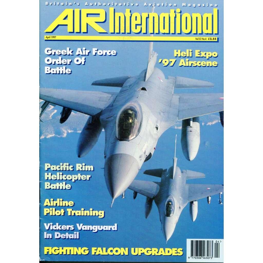 Air International 4/1997, Vol. 52, No. 4 (letectví, letadla)