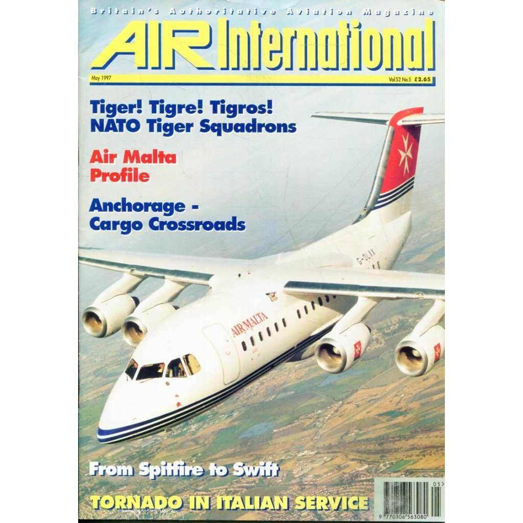 Air International 5/1997, Vol. 52, No. 5 (letectví, letadla)