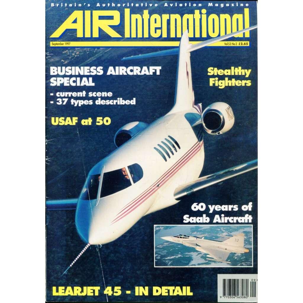 Air International 9/1997, Vol. 53, No. 3 (letectví, letadla)