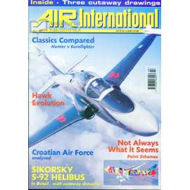 Air International 3/1999, Vol. 56, No. 3 (letectví, letadla)