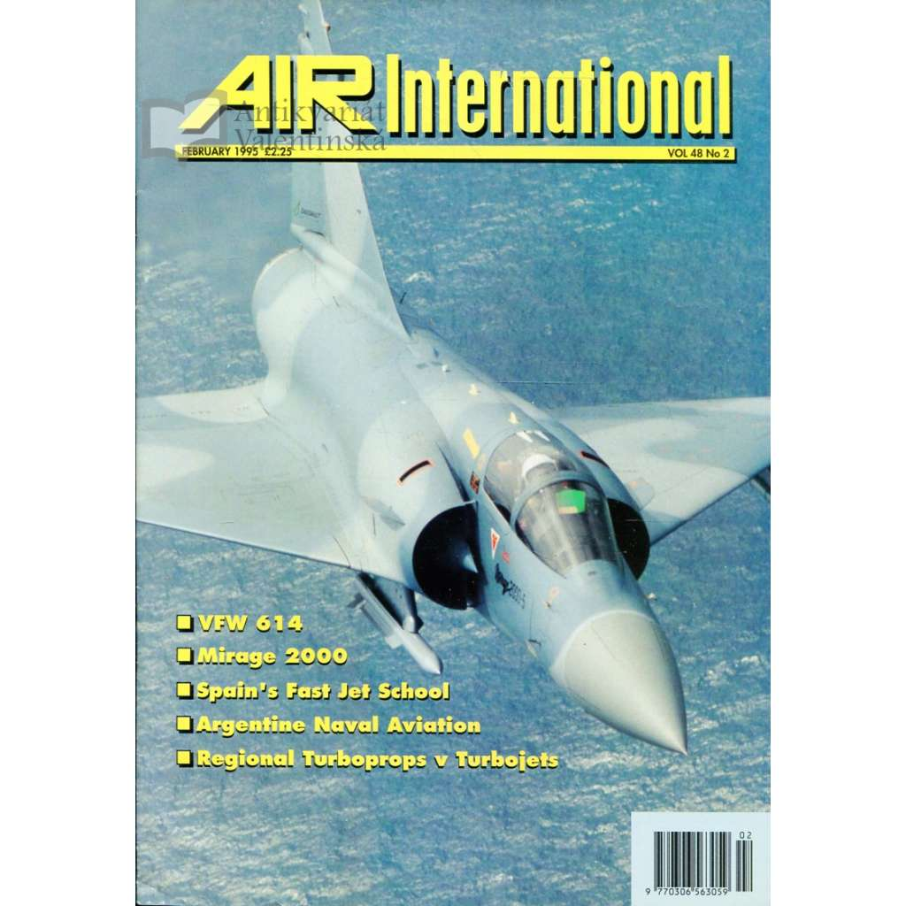 Air International 2/1995, Vol. 48, No. 2 (letectví, letadla)