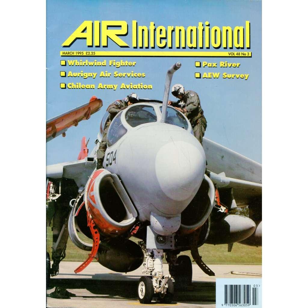 Air International 3/1995, Vol. 48, No. 3 (letectví, letadla)