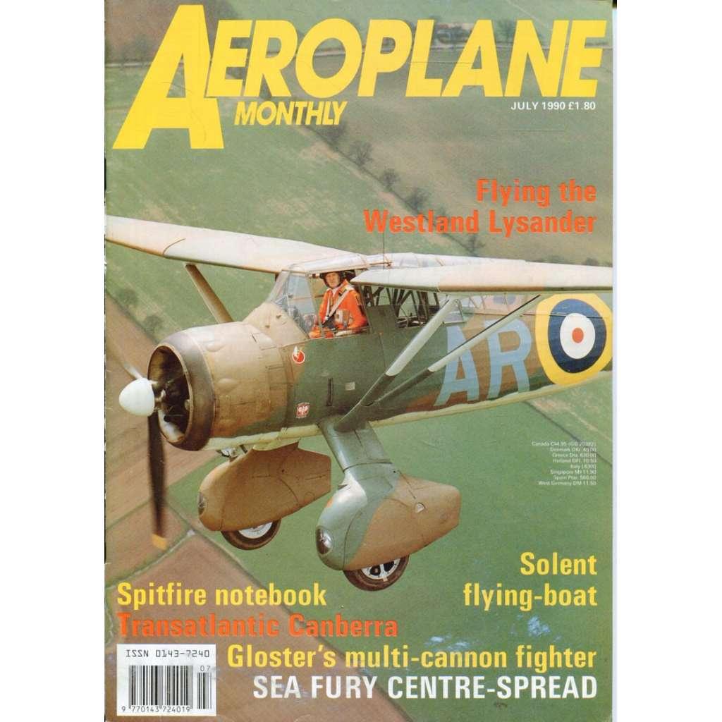 Aeroplane Monthly 7/1990, Vol. 18, No. 7, Issue No. 207 (letectví, letadla)