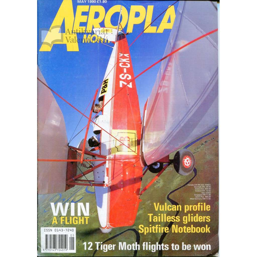 Aeroplane Monthly 5/1990, Vol. 18, No. 5, Issue No. 205 (letectví, letadla)