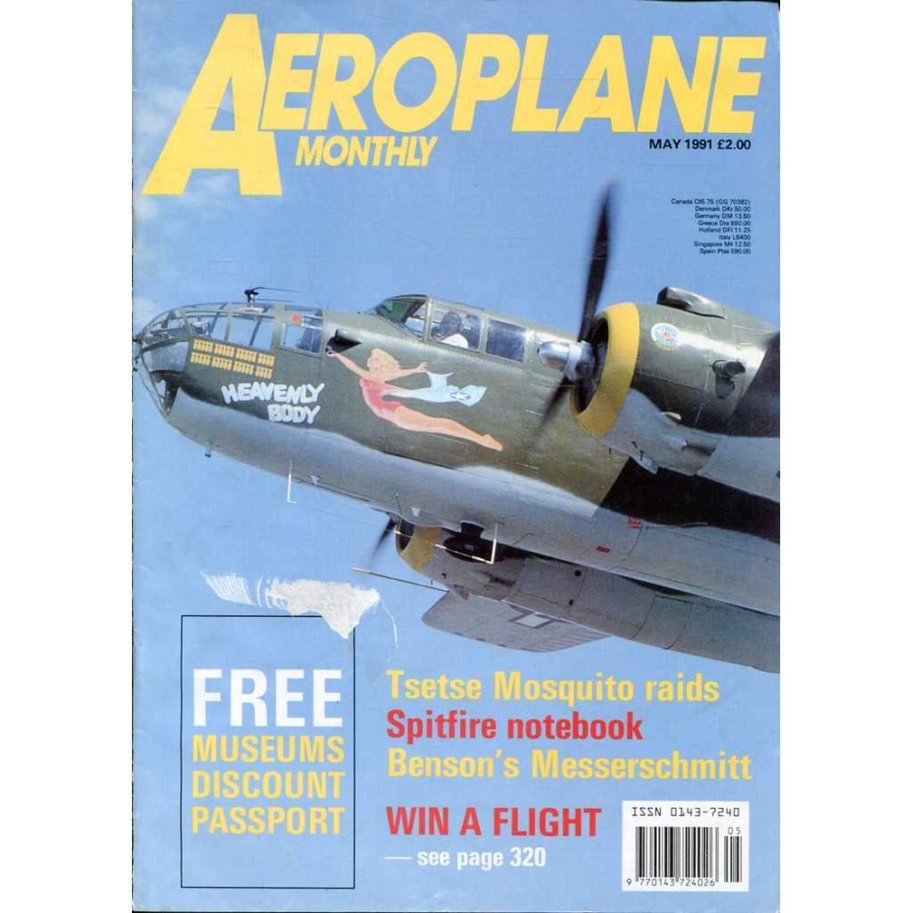 Aeroplane Monthly 5/1991, Vol. 19, No. 5, Issue No. 217 (letectví, letadla)