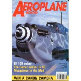 Aeroplane Monthly 8/1989, Vol. 17, No. 8, Issue No. 196 (letectví, letadla)