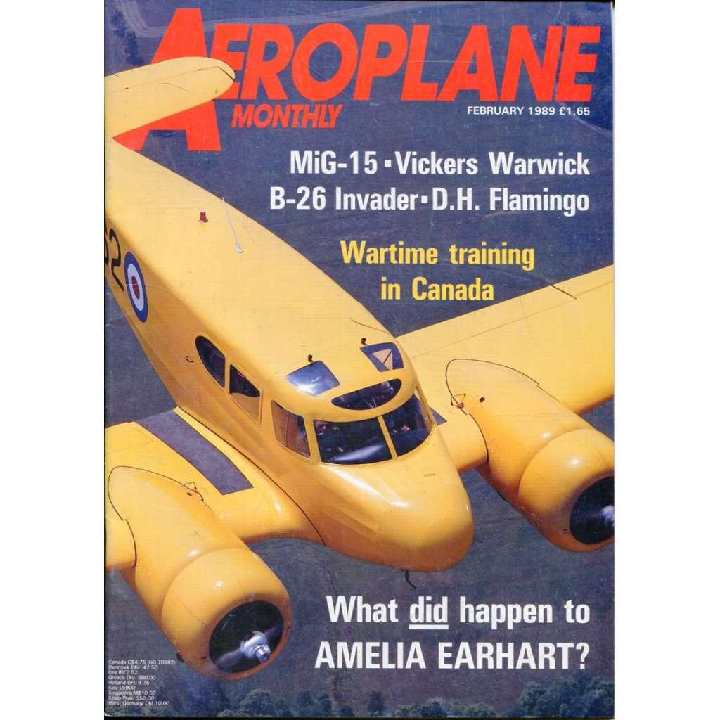 Aeroplane Monthly 2/1989, Vol. 17, No. 2, Issue No. 190 (letectví, letadla)