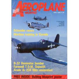 Aeroplane Monthly 4/1989, Vol. 17, No. 4, Issue No. 192 (letectví, letadla)