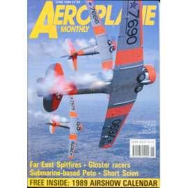 Aeroplane Monthly 6/1989, Vol. 17, No. 6, Issue No. 194 (letectví, letadla)