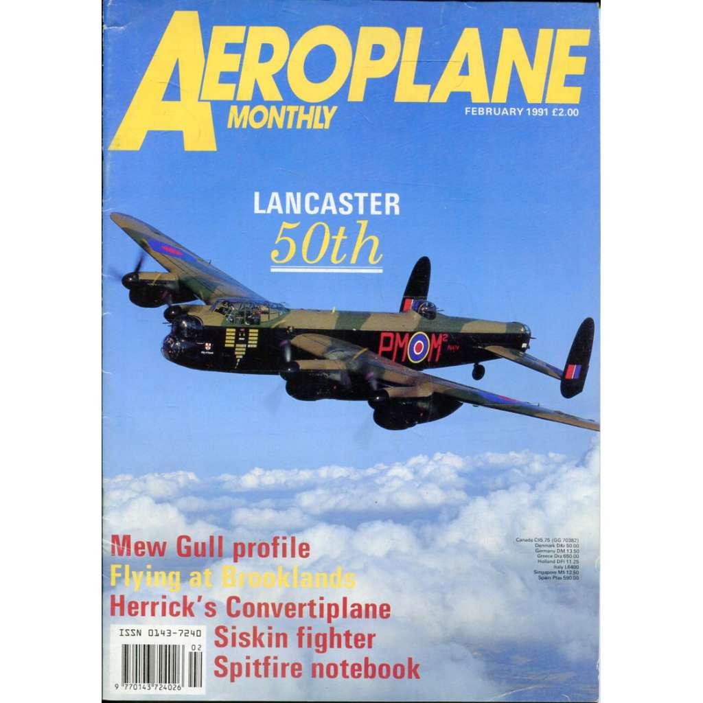 Aeroplane Monthly 2/1991, Vol. 19, No. 2, Issue No. 214 (letectví, letadla)