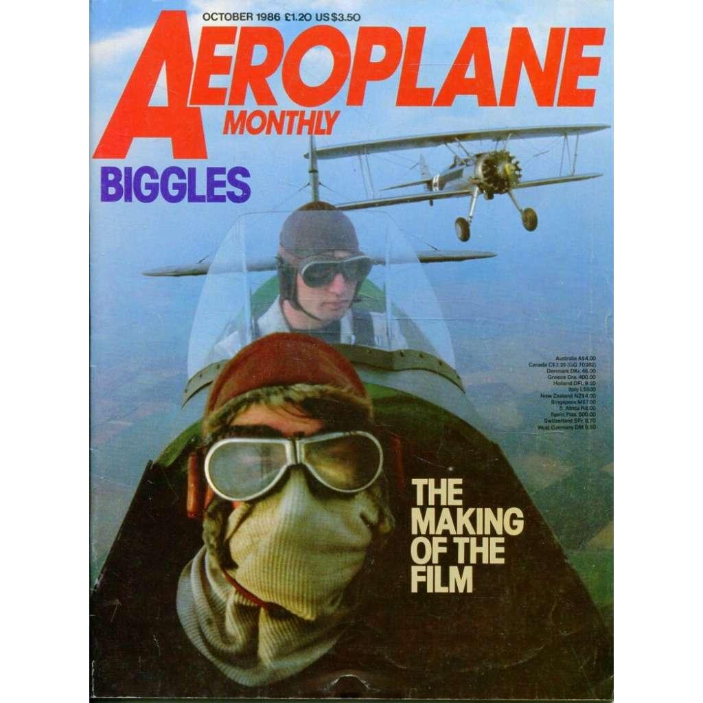 Aeroplane Monthly 10/1986, Vol. 14, No. 10, Issue No. 162 (letectví, letadla)