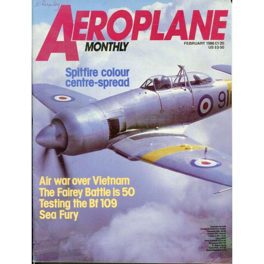 Aeroplane Monthly 2/1986, Vol. 14, No. 2, Issue No. 154 (letectví, letadla)