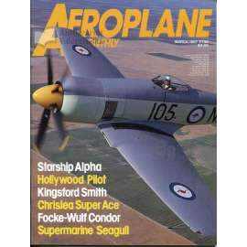 Aeroplane Monthly 3/1987, Vol. 15, No. 3, Issue No. 167 (letectví, letadla)
