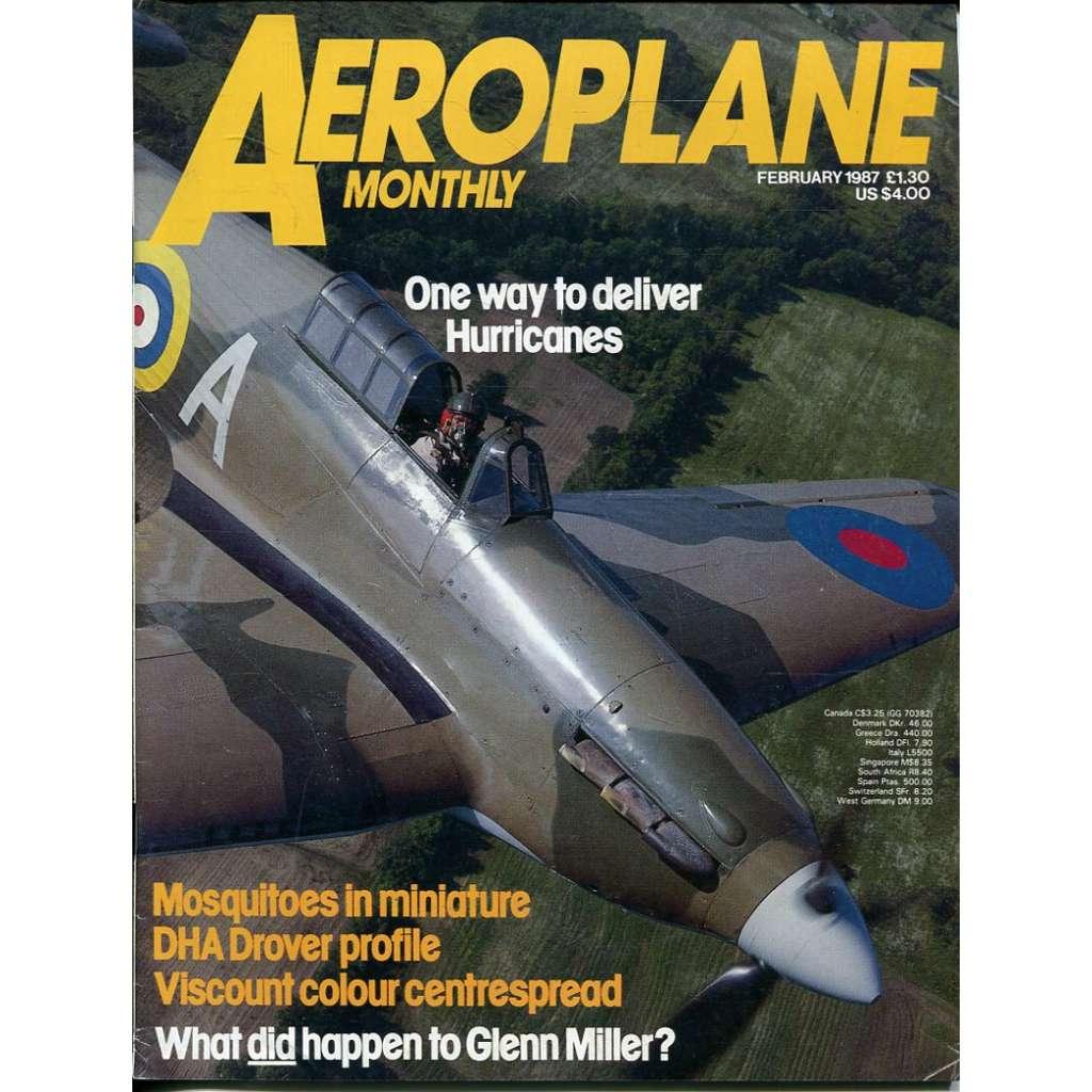 Aeroplane Monthly 2/1987, Vol. 15, No. 2, Issue No. 166 (letectví, letadla)