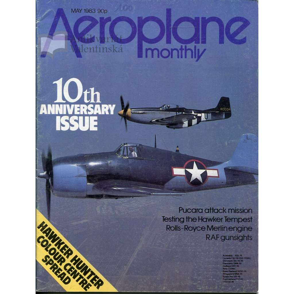 Aeroplane Monthly 5/1983, Vol. 11, No. 5, Issue No. 121 (letectví, letadla)