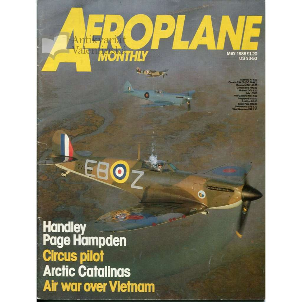 Aeroplane Monthly 5/1986, Vol. 14, No. 5, Issue No. 157 (letectví, letadla)