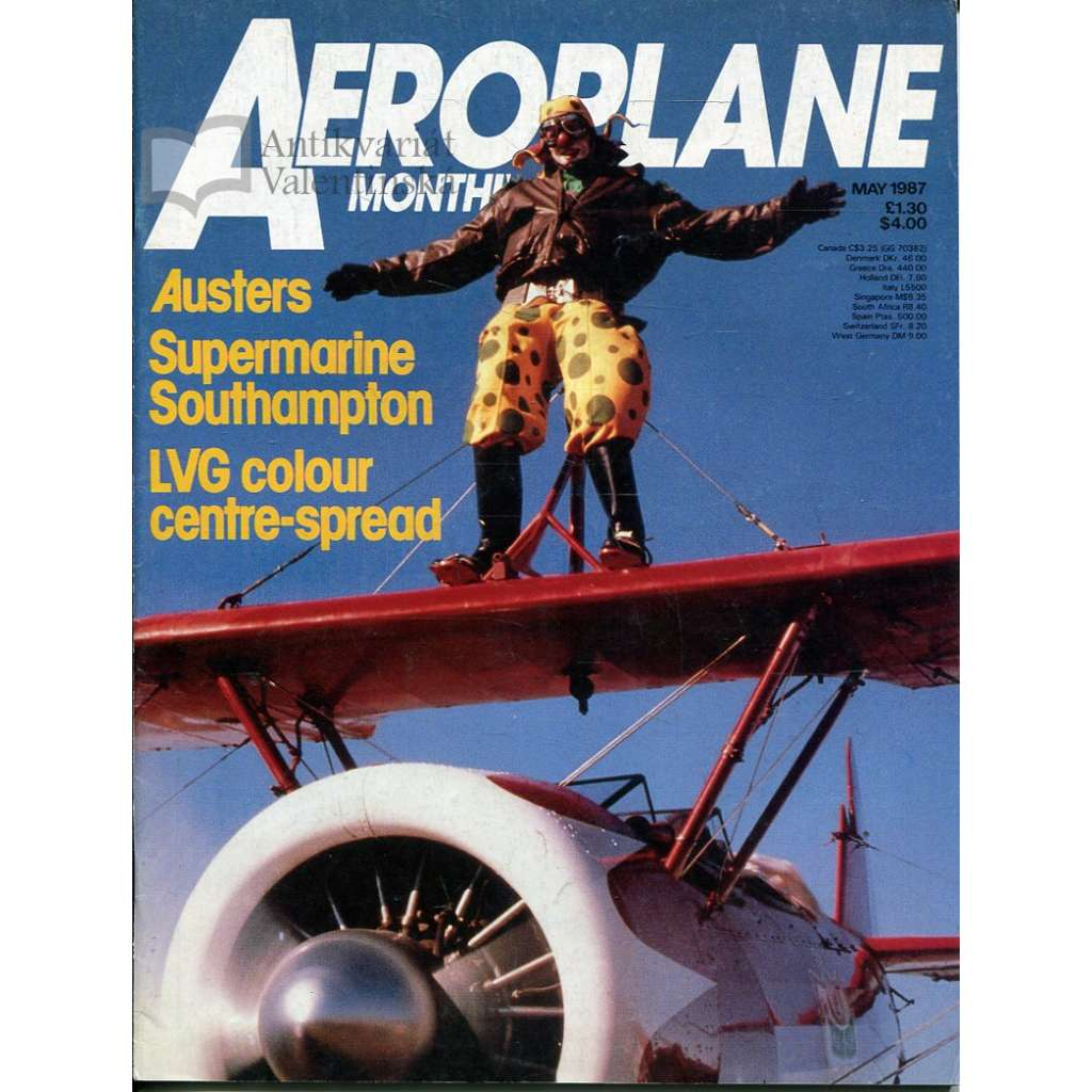 Aeroplane Monthly 5/1987, Vol. 15, No. 5, Issue No. 169 (letectví, letadla)