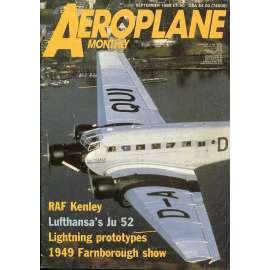 Aeroplane Monthly 9/1988, Vol. 16, No. 9, Issue No. 185 (letectví, letadla)