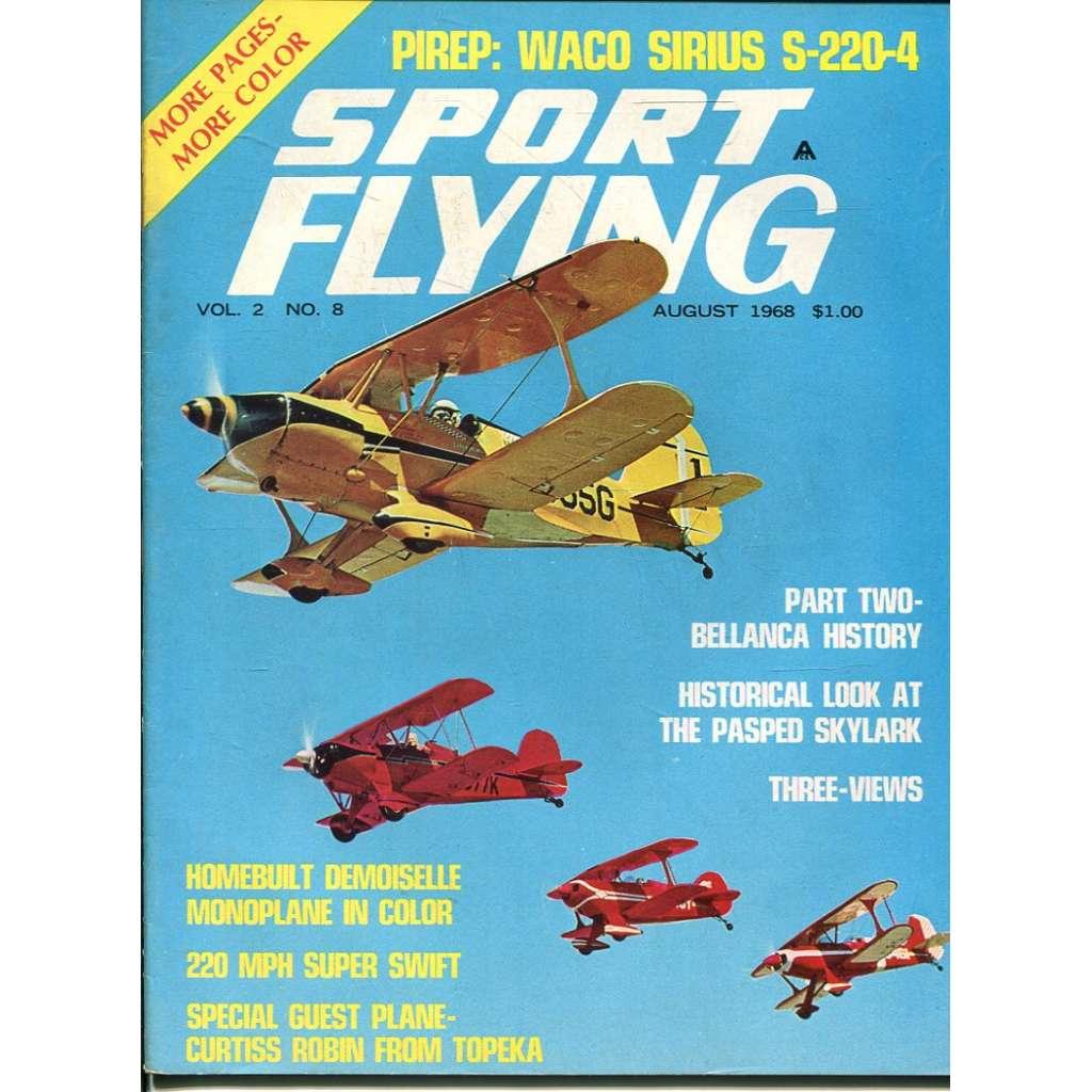 Sport Flying 8/1968, Vol. 2, No. 8 (letadla, letectví)