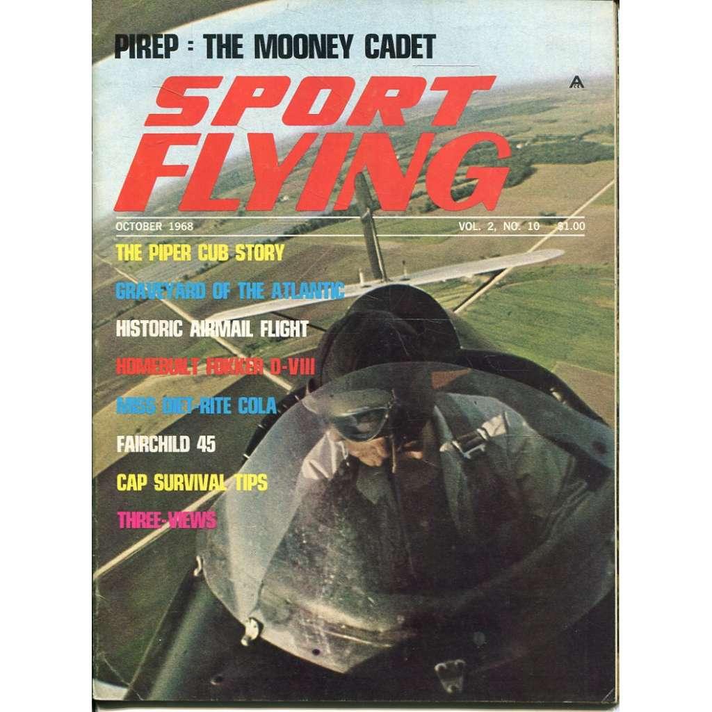 Sport Flying 10/1968, Vol. 2, No. 10 (letadla, letectví)