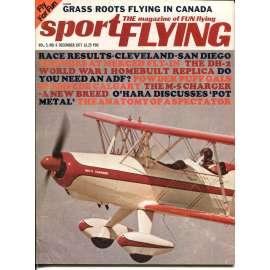 Sport Flying 12/1971, Vol. 5, No. 6 (letadla, letectví)