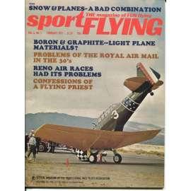 Sport Flying 2/1972, Vol. 6, No. 1 (letadla, letectví)
