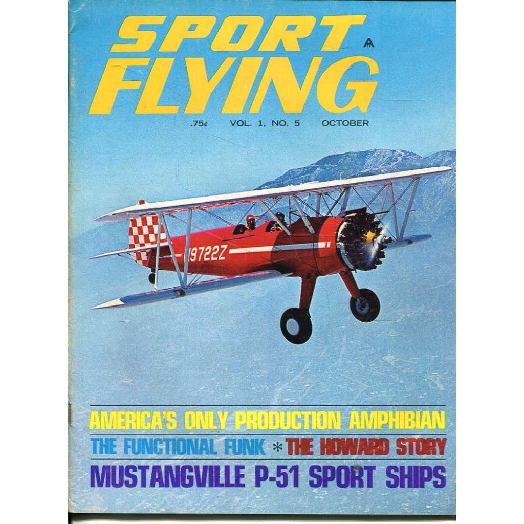 Sport Flying 10/1967, Vol. 1, No. 5 (letadla, letectví)