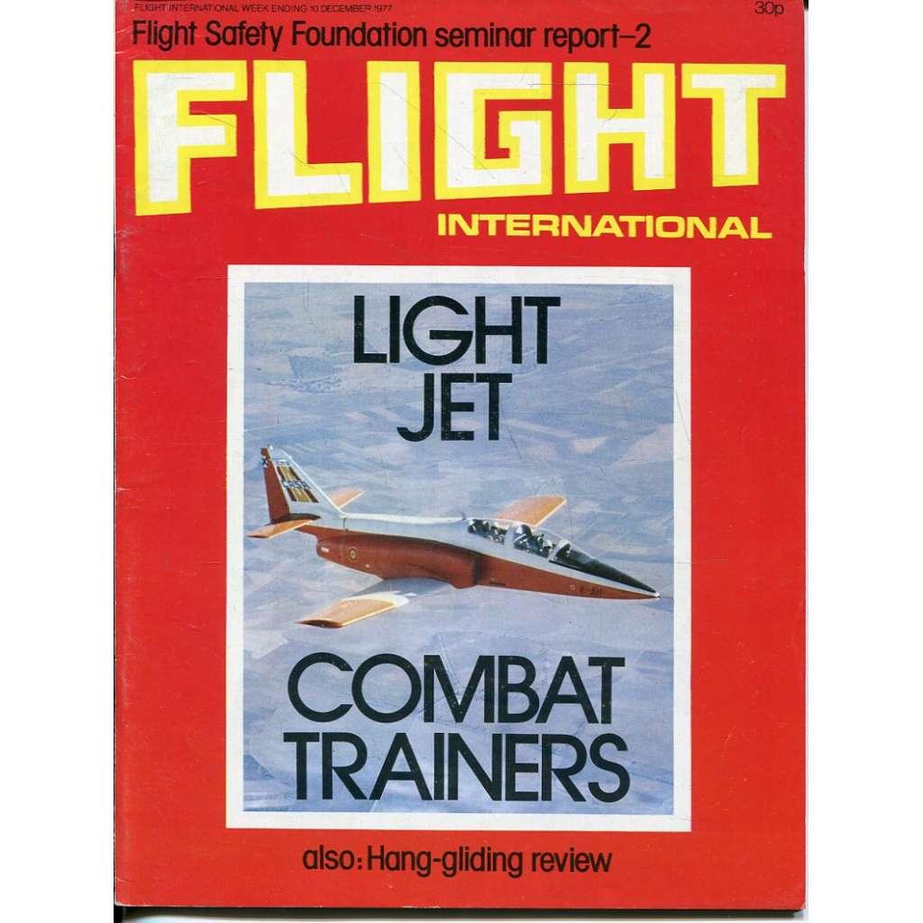 Flight International 10/12/1977, No. 3586, Vol. 112 (letadla, letectví)