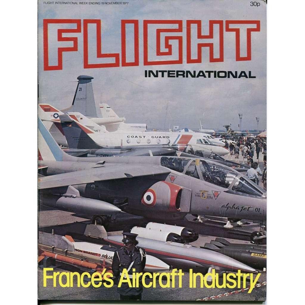 Flight International 19/11/1977, No. 3584, Vol. 112 (letadla, letectví)
