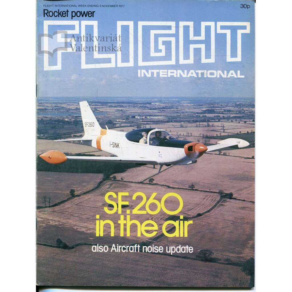 Flight International 5/11/1977, No. 3582, Vol. 112 (letadla, letectví)