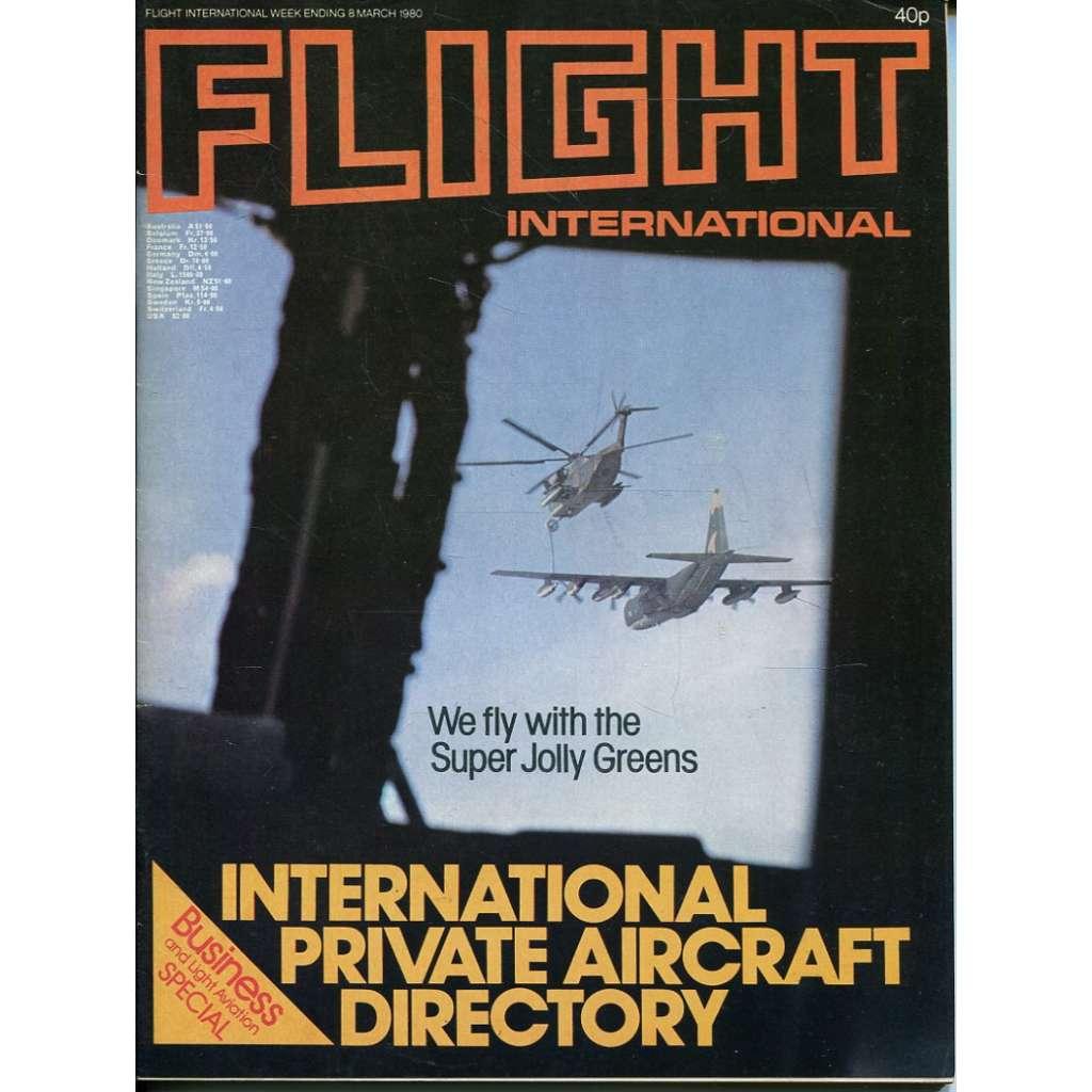 Flight International 8/3/1980, No. 3703, Vol. 117 (letadla, letectví)