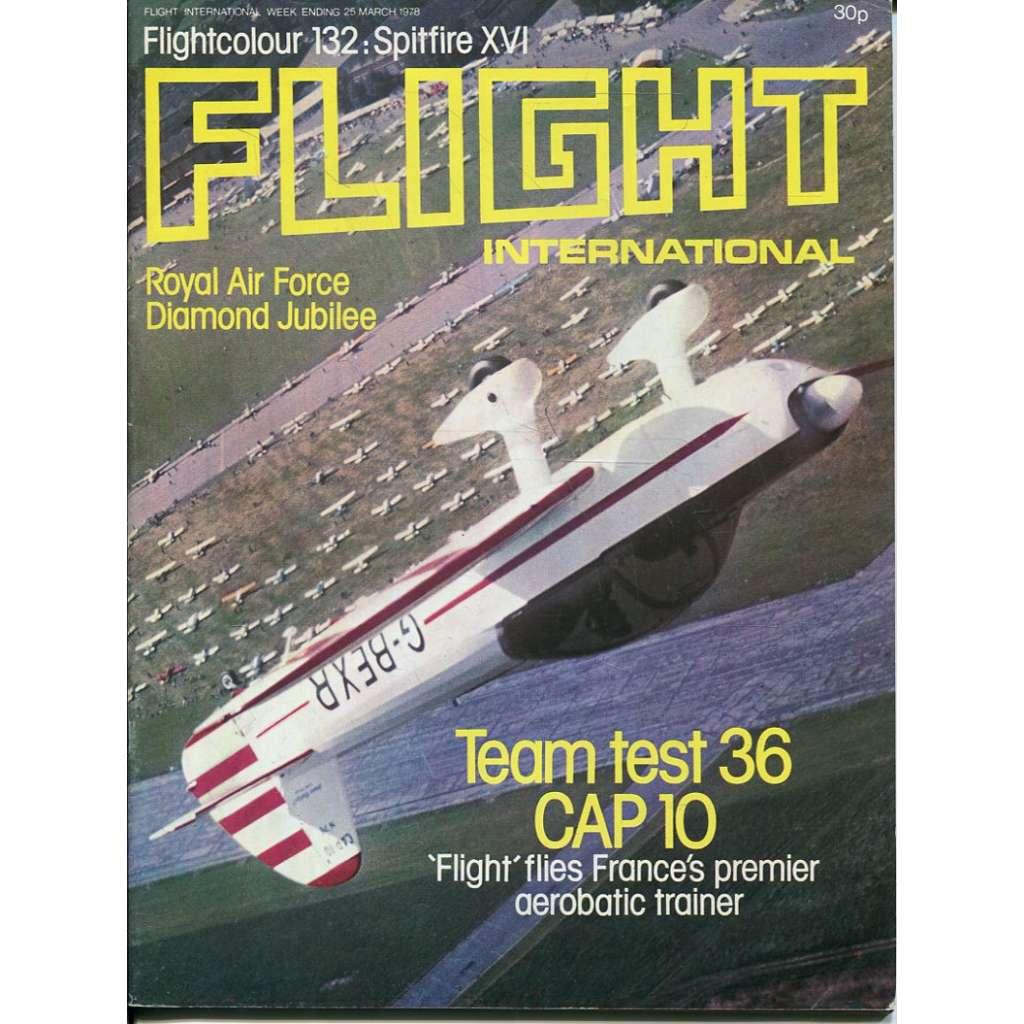 Flight International 25/3/1978, No. 3601, Vol. 113 (letadla, letectví)