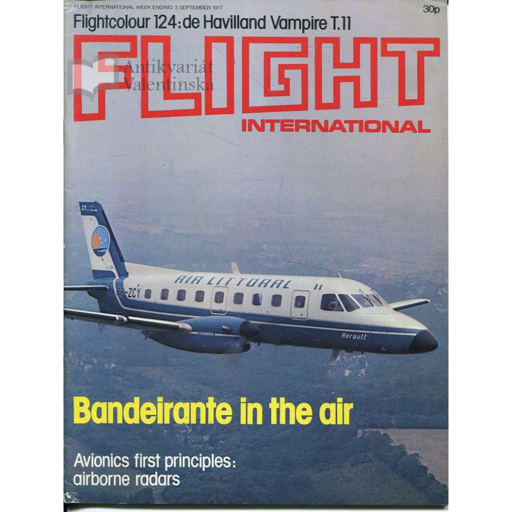 Flight International 3/9/1977, No. 3573, Vol. 112 (letadla, letectví)