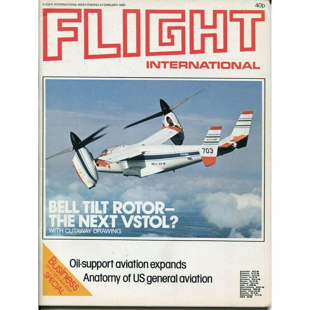 Flight International 9/2/1980, No. 3699, Vol. 117 (letadla, letectví)