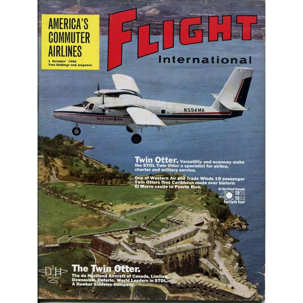 Flight International 3/10/1968, No. 3108, Vol. 94 (letadla, letectví)
