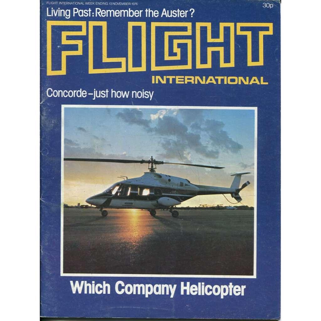 Flight International 13/11/1976, No. 3531, Vol. 110 (letadla, letectví)