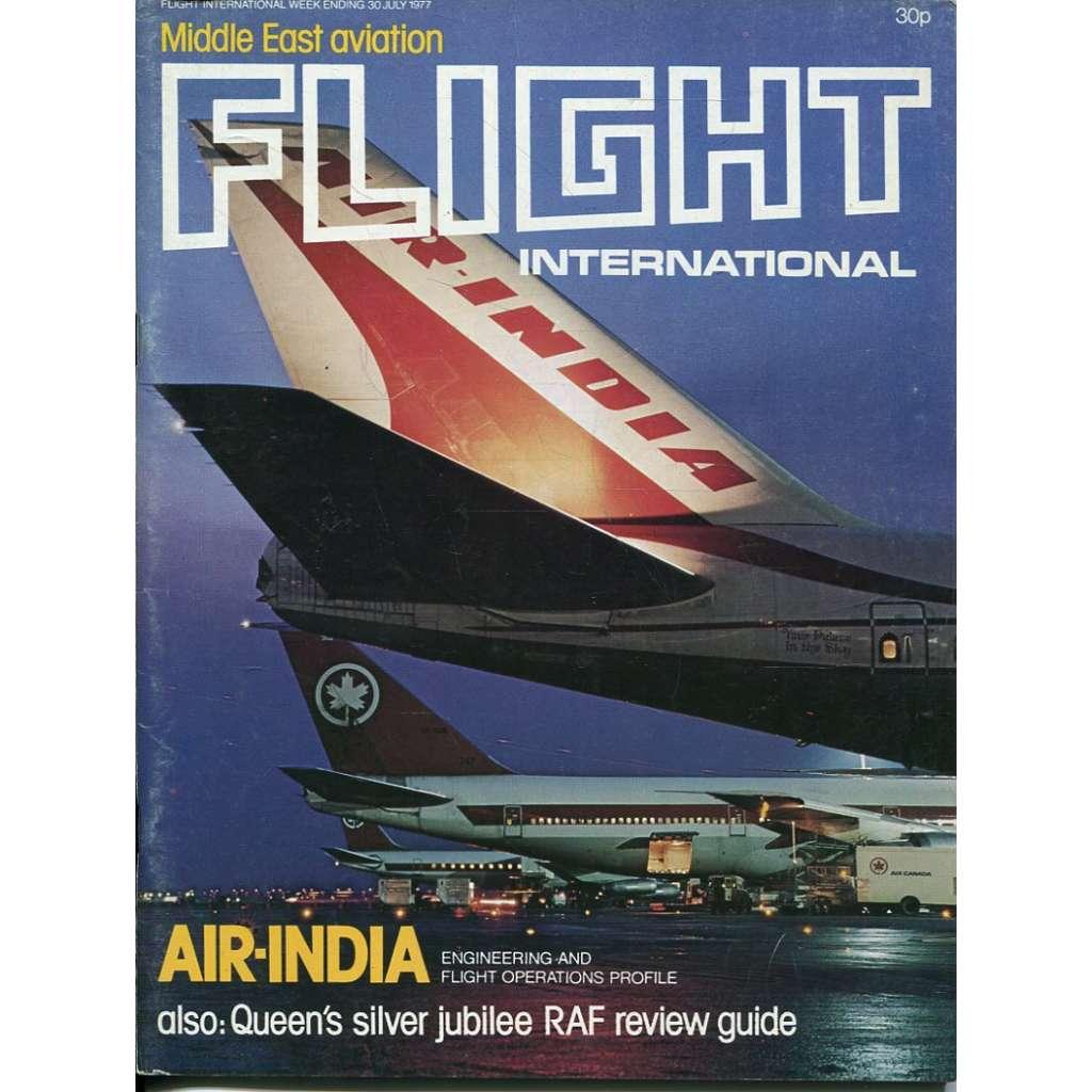 Flight International 30/7/1977, No. 3568, Vol. 112 (letadla, letectví)